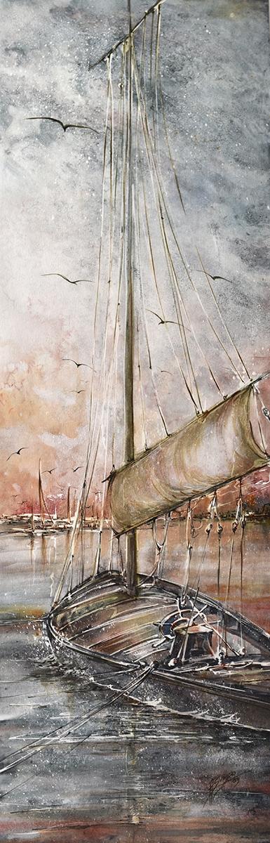 Barca a vela da trasporto