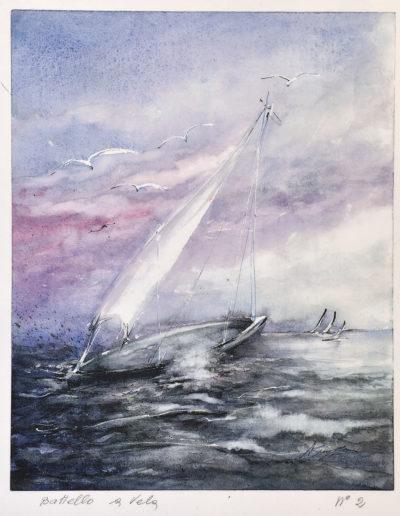 Battello a vela numero 2