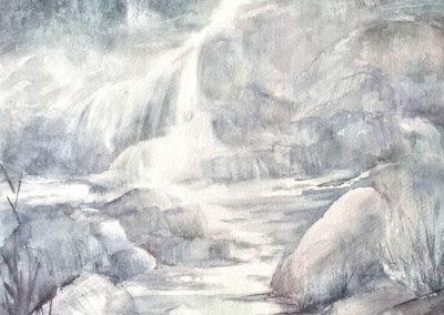 Cascata Ticinese, particolare