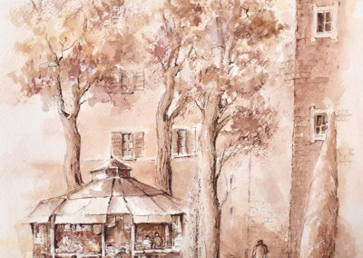Forli, Piazza Ordelaffi