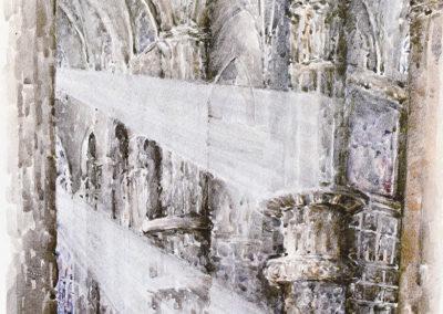 Milano, interno del Duomo