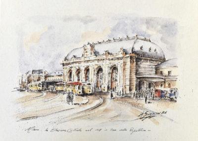 Milano, Stazione Centrale, 1917