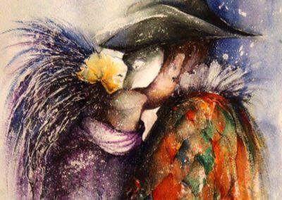 Il bacio delle maschere