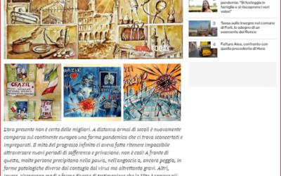 Un contributo artistico per i sanitari impegnati nella lotta contro il coronavirus